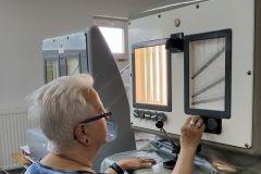 Badanie materiałów - przewiewność tkaniny
