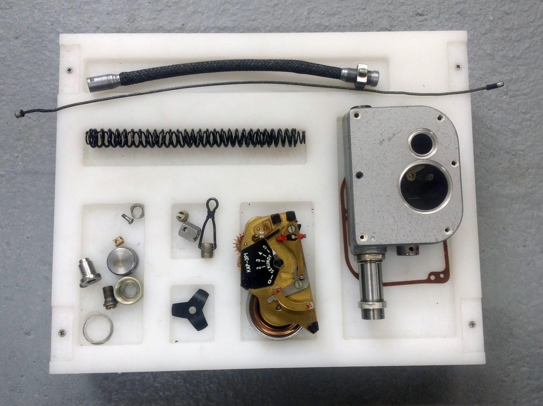 Obsługa automatu KAP-3P1 - automat przygotowany do przeglądu