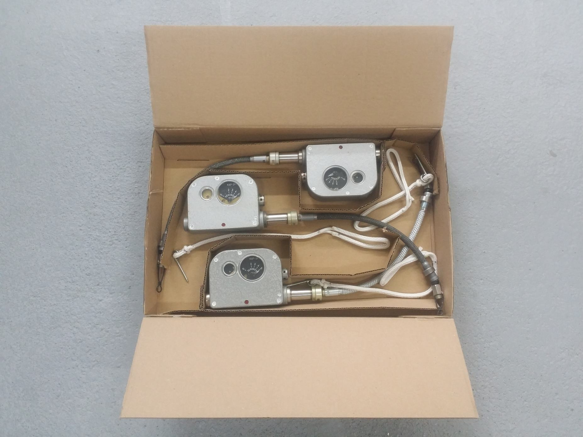 Obsługa automatu KAP-3P1- przebadane automaty przygotowane do wysyłki