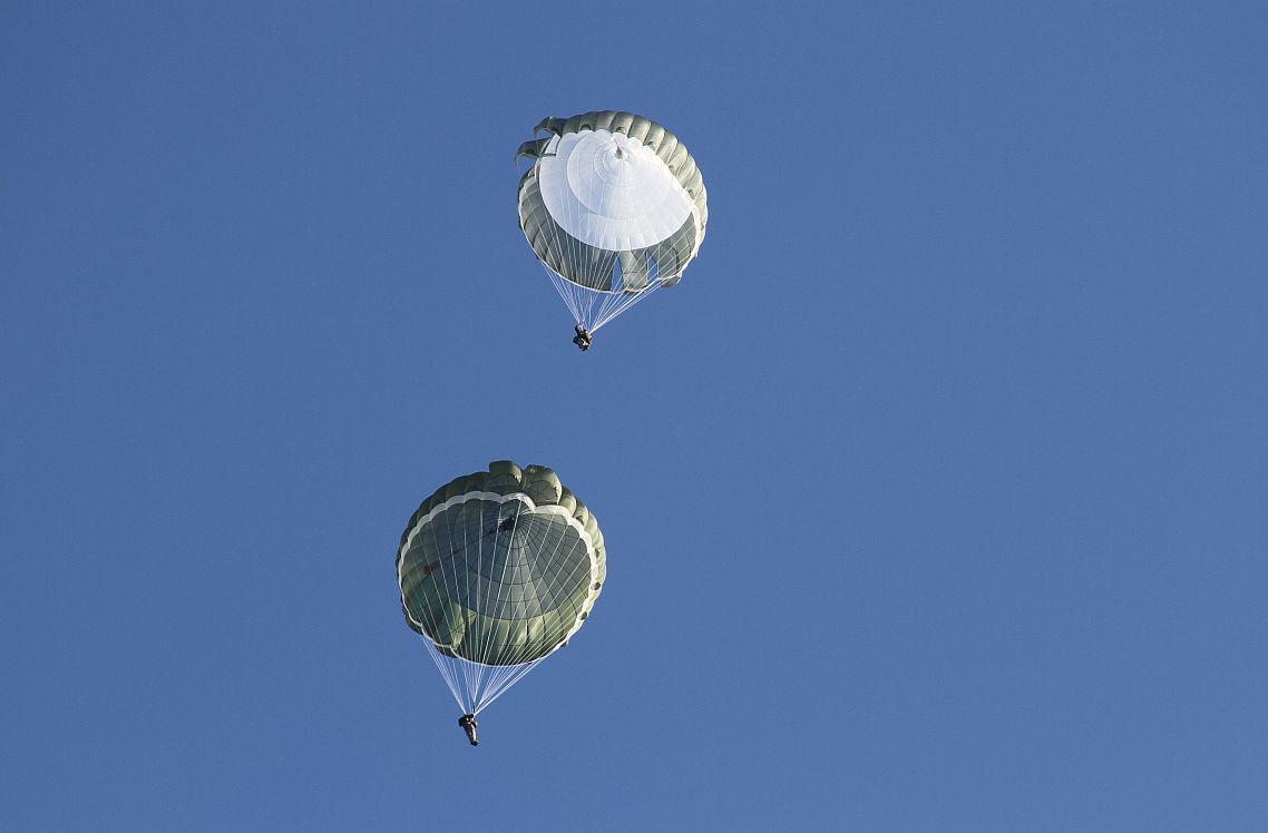 Zestaw spadochronowy DEDAL serii 3 (AD-95s.3 + AZ95s.3)