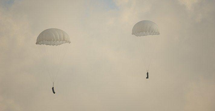 spadochrony towarowe